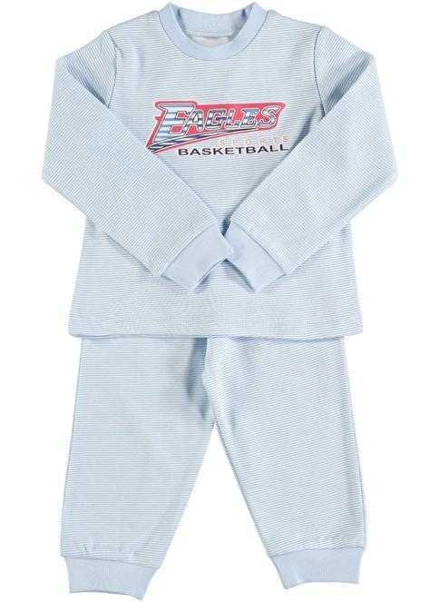 Sly Kids Pijama Takım Mavi